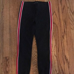 ZARA black&red leggings